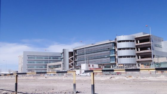 HOSPITAL DE CALAMA, CHILE